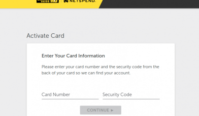 Netspend Card Activation