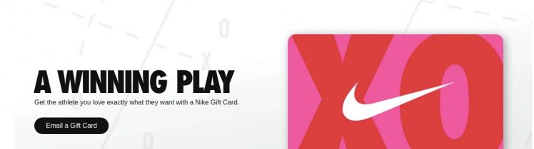 Nike Gift Cards Logo