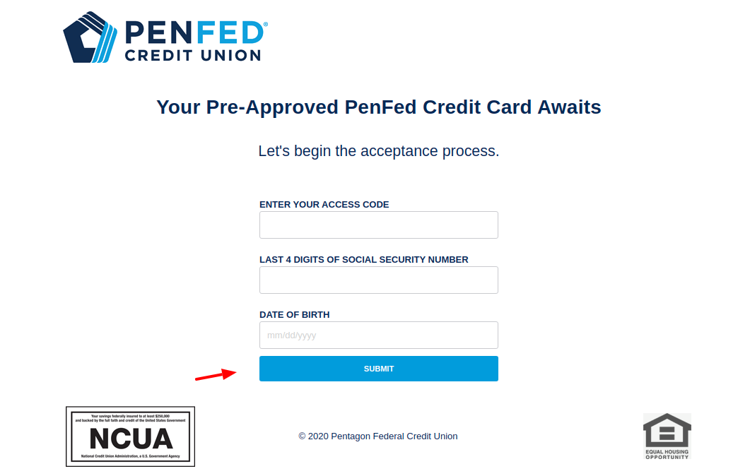 PenFed Apply