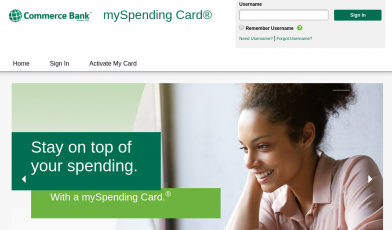 mySpending Card Logo