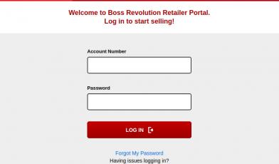 Boss Revolution Retailer Login