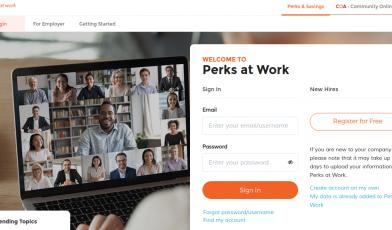 Perks at Work Logo
