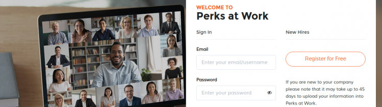 Perks at Work Logo