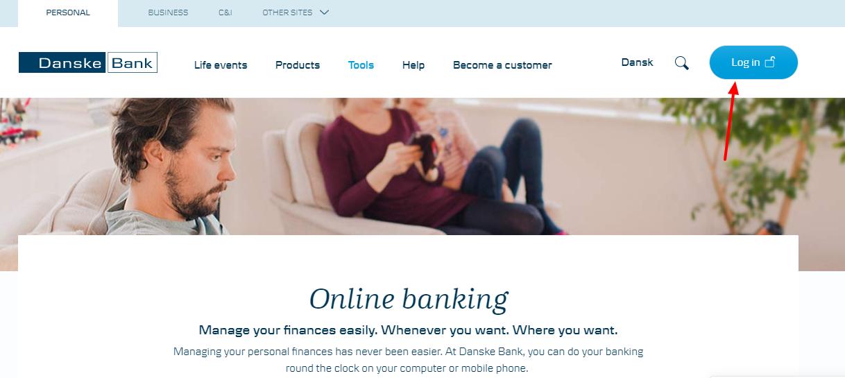 Danske Bank Login