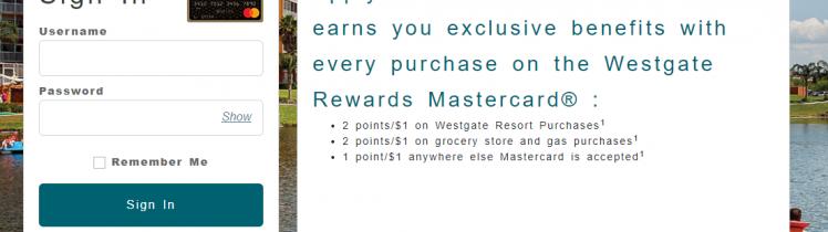 Westgate Rewards Mastercard Logo