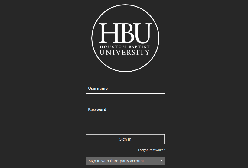 hbu blackboard login