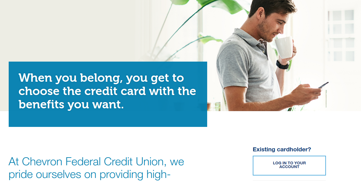 chevron federal credit union credit card login
