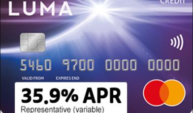 luma card logo
