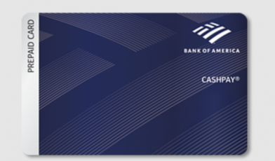 bank of america cashpay card