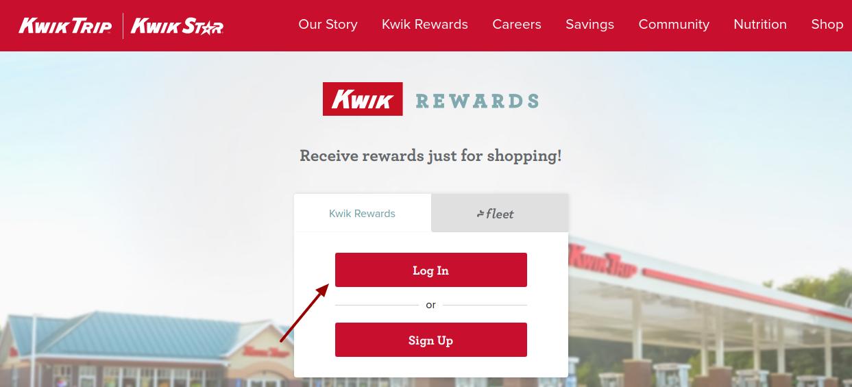 kwik rewards login